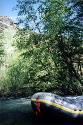 Whitewater Rafting on Goodwin Canyon