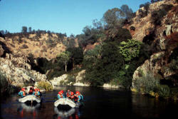 california whitewater rafting with an outfitter
